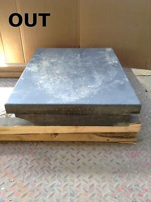 "Black Granite Surface Plate 24"" X 17-1/4"" X 3"""