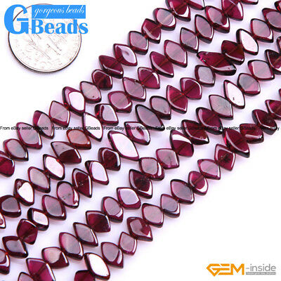 Natural Assort Shape Red Garnet Loose Stone Stone Beads For Jewelry Making 15""