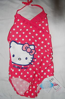 Pink Hello Kitty Swimming Costume from Marks and Spencer Age 1.5-2 Years BNWT