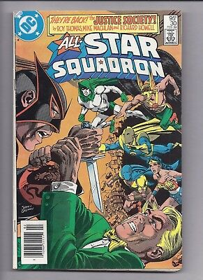 Canadian Newsstand Edition $0.95 Price Variant All-Star Squadron #30