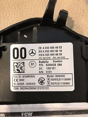 Originale Mercedes RADAR - SENSOR / ABSTAND - RADAR SENSOR/ A 0009054603 / TOP.