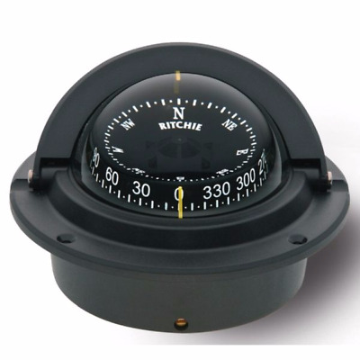 Ritchie Boat Voyager Compass F-83-OEM | Four Winns 4 1/8 Inch Black