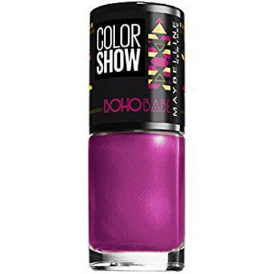 Maybelline Nail Polish   Color Show Boho Babe   Assorted Colours   7ml