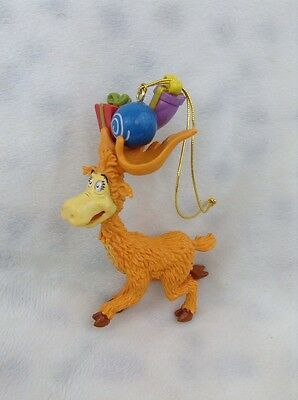 Dr. SEUSS CHRISTMAS ORNAMENT Thidwick BIG HEARTED MOOSE w GIFTS Jim Henson