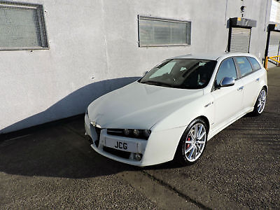 10 Alfa Romeo 159 Ti Sportwagon 1.9JTDM Damaged Salvage Repairable Cat N