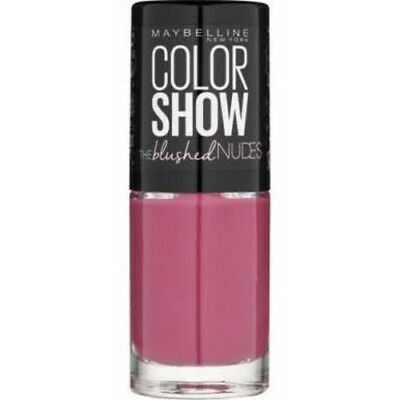 Maybelline Nail Polish   Color Show Blushed Nudes   Assorted Colours   7ml