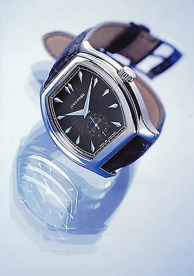 Chopard LUC Pressefoto 3.97 1997 Tonneau watch Uhr press photo GB F D I E Foto