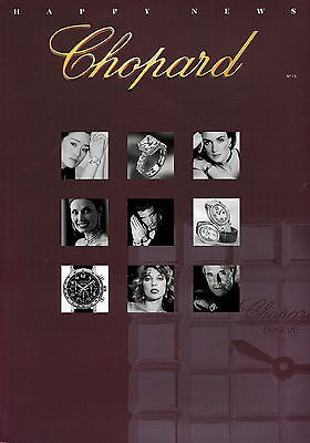 Chopard Katalog 15 2002 Sir Elton John Joan Collins Kylie Minogue Gong Li Sharon