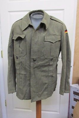 Militaria Collectibles WEST GERMAN MILITARY FIELD JACKET SHIRT
