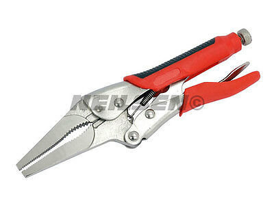 "Neilsen 9"" Mole Grip Long Nose Locking Jaw Pliers Vice Wrench Grips 9 Inch"