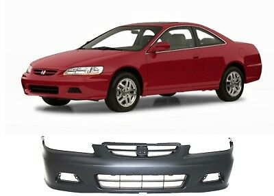 Replacement Front Bumper Cover For 2001-2002 Honda Accord COUPE ONLY New USA