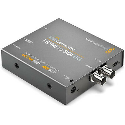 Blackmagic Design Mini Converter - HDMI to SDI 6G CONVMBHS24K6G-Ships from Miami