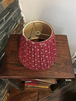 Longaberger traditional Red Lamp Shade
