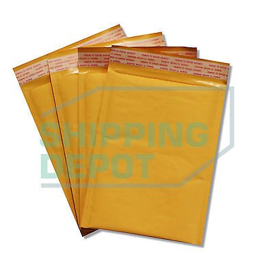 """1-2000 #0 6x10 Kraft Bubble Mailers Self Seal Padded Envelopes 6""""x10"""" SecureSeal"""