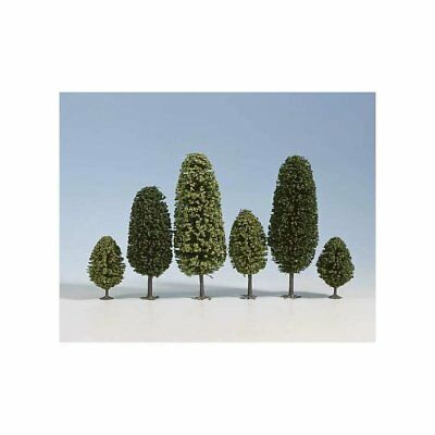 NOCH - (D)26401 - (D)Deciduous Trees, 10 pcs., 6.5 - (D)11 cm high