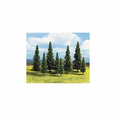 NOCH- (D)32525- (D)Model Spruce Trees, 25 pcs., 4- (D)10 cm high