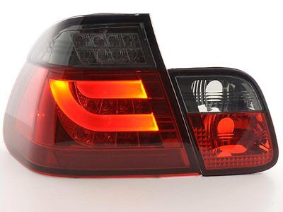 FK-Automotive LED Rückleuchten Set BMW 3er E46 Limo Bj. 02-05 rot/schwarz