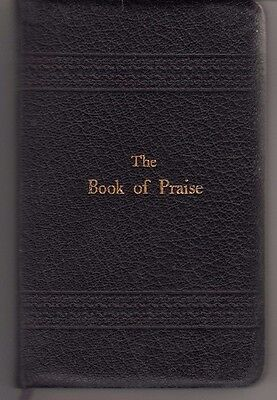 Vintage 1918 The Book Of Praise Leather Pocket Edition With Ribbon Page Marker