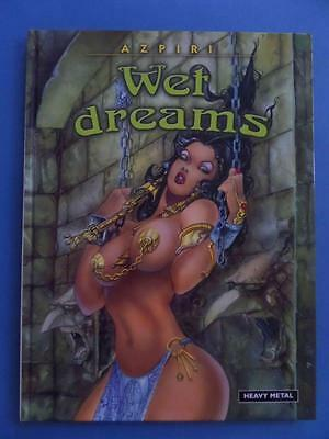 Wet Dreams Hardback! Azpiri Heavy Metal Erotic Adult!