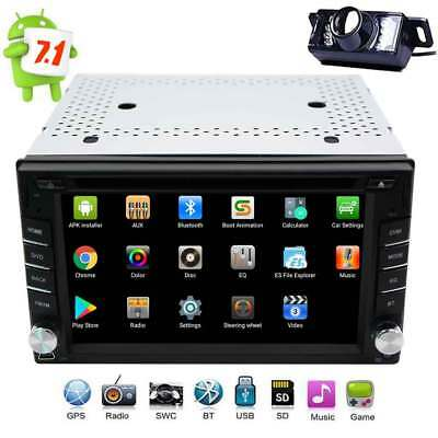 """2 Din Stereo Multimedia Player Camera Android7.1 6.2"""" Touchscreen GPS BT SWC OBD"""