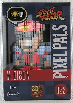 Pixel Pals 022 M.Bison - Brand New and Sealed - Street Fighter Series Capcom