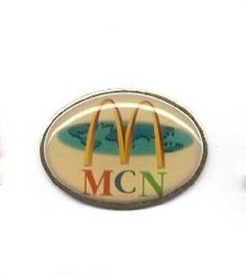 Old McDonalds Restaurant MCN Globe Global Supplier USA Made Lapel Pin z3