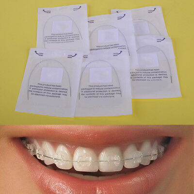 6pcs Dental Ortho Thermal Activated Natural NiTi Arch Wire 12 14 16 Round