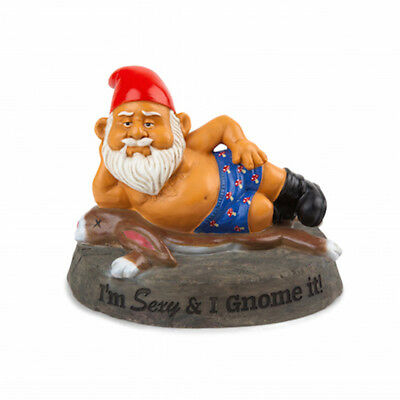 The Hot Stuff Garden Gnome - Sexy Gnome Brand New