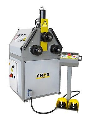 AMOB Power Ring Roller MAH-50/2 Section Roll Bender Rollers Rolls