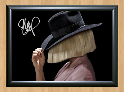 Sia Furler 1000 Forms Of Fear Signed Autographed A4 Poster Music Memorabilia cd