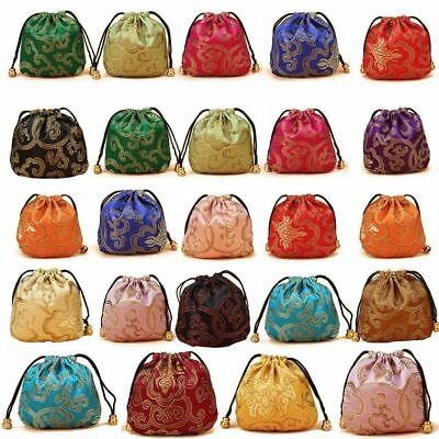 Silk Jewelry Pouch Bag Gift pouch bag Drawstring Jewelry Pouch Bag YX0020