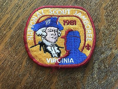 Vintage 1981 Boy Scouts of America National Jamboree Patch Small