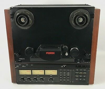 Fostex E-2 Reel to Reel 2 Track Analog Tape Recorder Reproducer E2