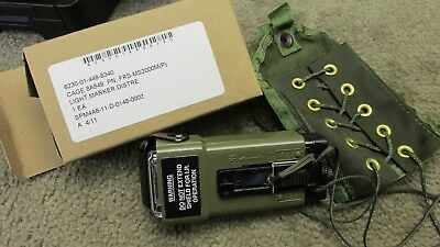 US FRS MS-2000M Military Distress Strobe Light W IR Beacon & Survival Vest Pouch