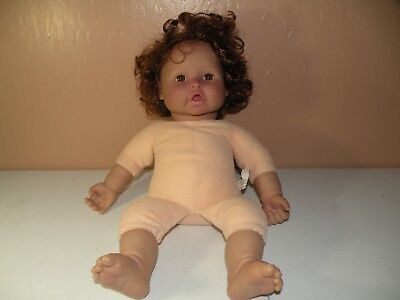 Baby So Real By Irwin Toy 2007 Reborn Baby Doll Curly Auburn Hair Brown Eyes