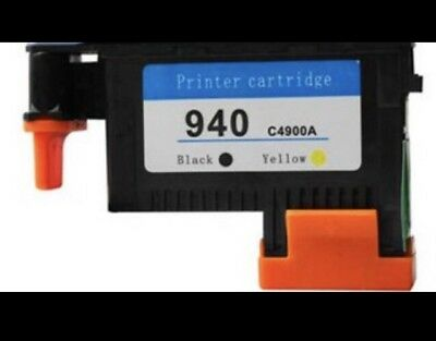 Genuine HP 940 Yellow & Black Printhead C4900A For Officejet Pro 8000 8500