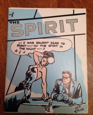 The Spirit, #1 Will Eisner 1966 Limited  Edition Of 300.