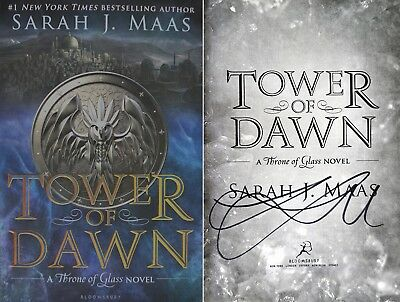 Sarah J Maas~PERSONALLY SIGNED~Tower of Dawn~1st/1st HC! Throne of Glass Series