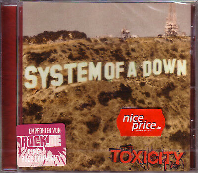 CD (NEU!) . SYSTEM of a DOWN - Toxicity (Chop Suey! mkmbh