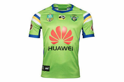 Canberra Raiders NRL 2018 Home ISC Jersey Mens, Ladies & Kids Sizes! Clearance!