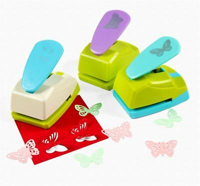 Making Scrapbooking Tag Tool BUTTERFLY DIY Craft Punch Paper Shaper Cutter Card
