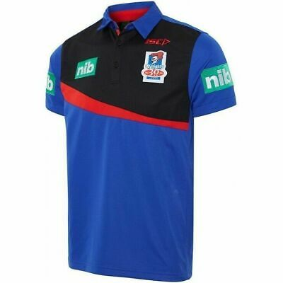 Newcastle Knights NRL 2017 Players ISC Polo Shirt Mens, Ladies & Kids Sizes!