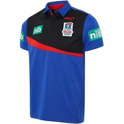 Newcastle Knights NRL Players ISC Polo Shirt Mens, Ladies & Kids Sizes!7