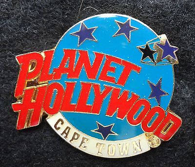 HTF Cape Town South Africa Planet Hollywood Blue Planet with Stars Logo PH Pin z