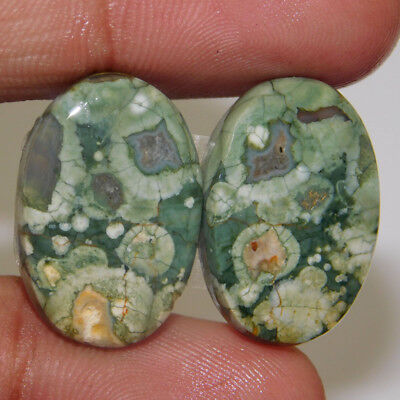 100% Natural 21X14X4Mm Rhyolite Opal Top Quality Loose Gemstone  Cab 24.85  Cts