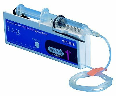 Graseby MS16 Hourly Rate Syringe Pump Driver MS 16A
