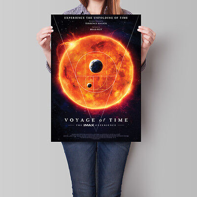 Voyage of Time Movie Poster 2016 Brad Pitt Cate Blanchett 16.6 x 23.4 in (A2)