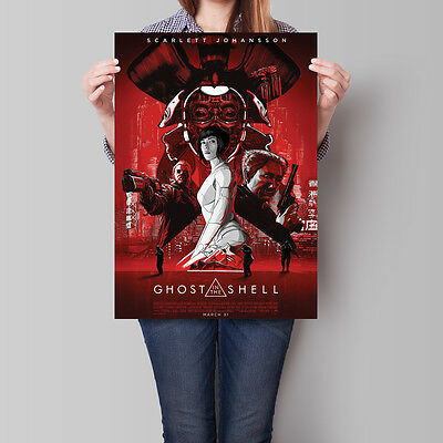 Ghost in the Shell Poster 2017 Movie Scarlett Johansson 16.6 x 23.4 in (A2)