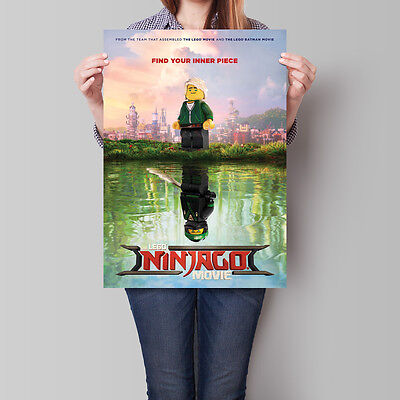 The Lego Ninjago Movie Poster 2017 Teaser 16.6 x 23.4 in (A2)