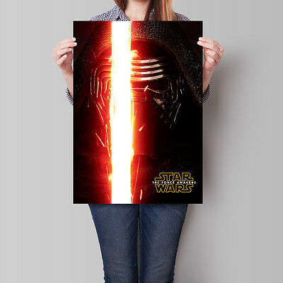 Star Wars The Force Awakens Movie Poster Kylo Ren 16.6 x 23.4 in (A2)